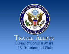 Us department of state bureau of consular affairs issues travel alert upton daily - Us department of state bureau of administration ...