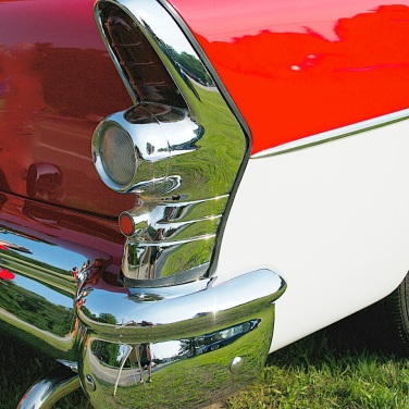VFW Car Show--Red White and Chrome -- Beautiful 1955 Buick
