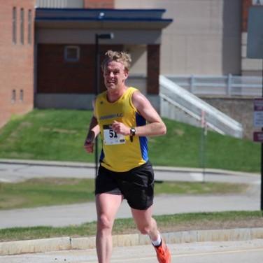 Men's winner Paul Reilly from Northbridge