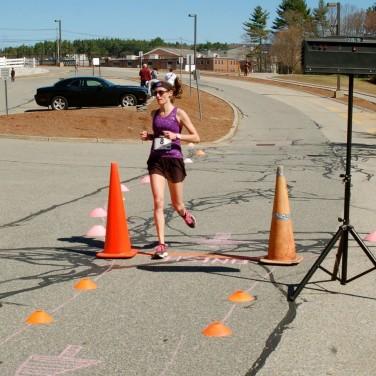 Women's winner Kate Carroll from Upton