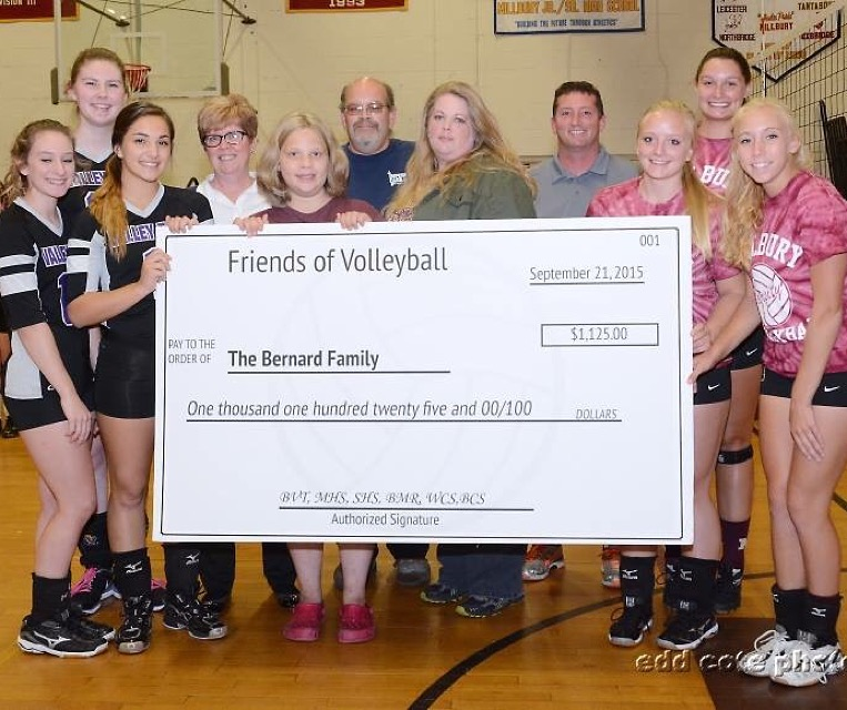 BVT Volleyball Donation
