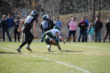 Captain Ryan Nelson #55 Junior - sacks BVT's QB!