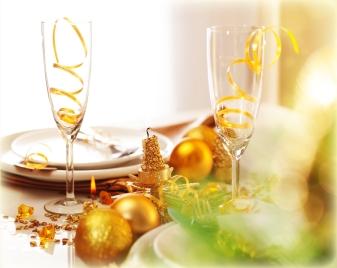 New Year dinner