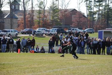 Zac Hunter #86 Junior - 47-yard Touchdown reception from QB Derek DeMarzo