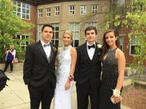 Jorge Romero, Haley Natterstad, Matt Verrone and Samantha Taddei