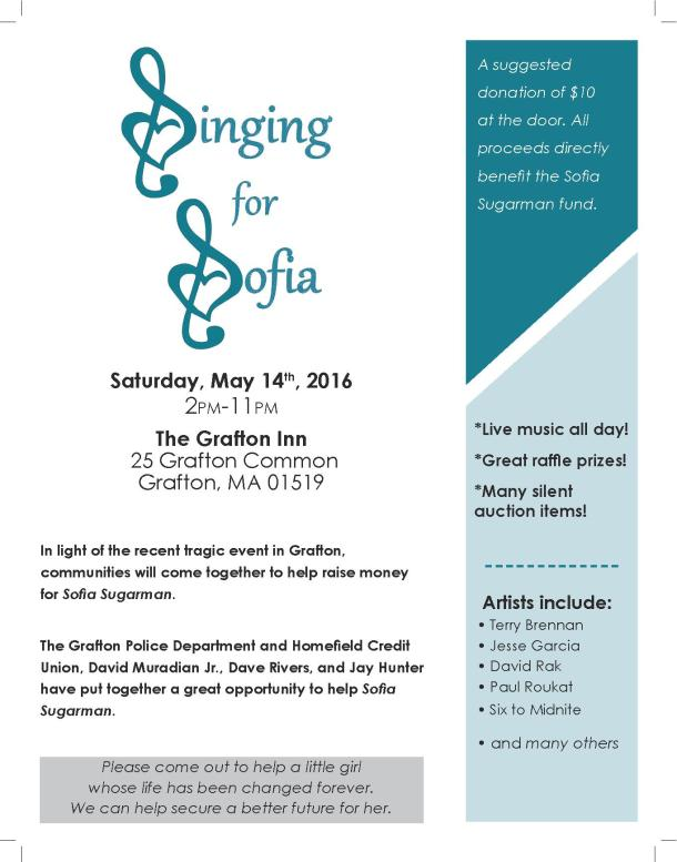 SINGING FOR SOPHIA FLYER final