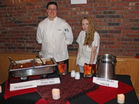 Alex Burgess of Northbridge and Catherine Tierney of Mendon teamed up to form Team Chili 24/7. Their Southern BBQ Pork Chili was the perfect mix of sweet and smoky.